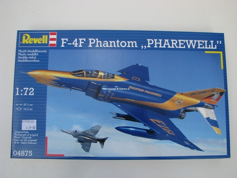 F-4F Phantom Pharewell 1:72 Revell